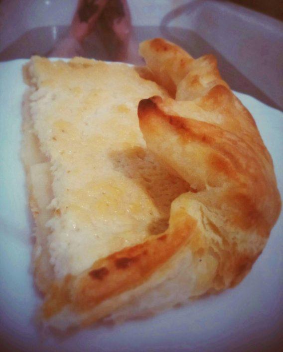 Слоёный пирог с тофу